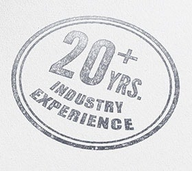 20 plus years experience
