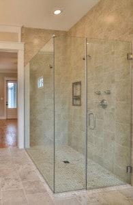 Universal Design Shower Stall